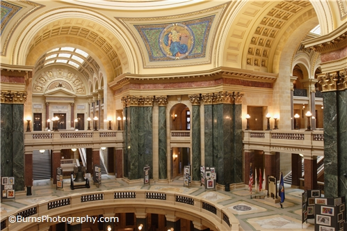 Picture of Wisconsin Capitol Rotunda