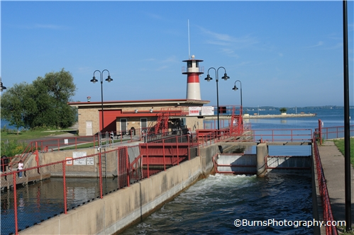 Locks on Lake Mendota