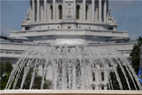 Picture of Monona Terrace Water Fountain
