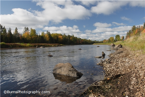 Picture of Wisconsin River Near Eagle River