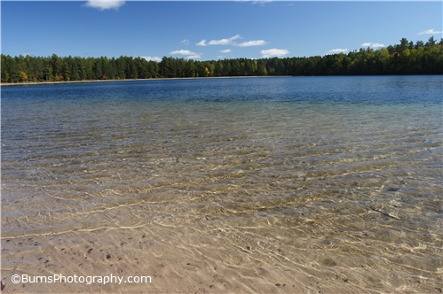 Picture of Crystal clear Firefly Lake
