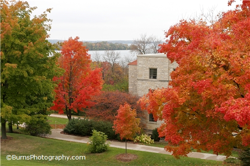 Picture of Liz Waters Dorm in the Fall