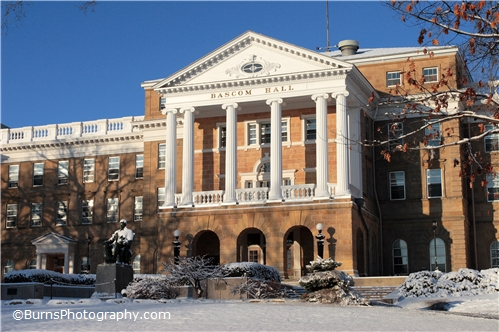 Picture of Bascom Hall in Winter